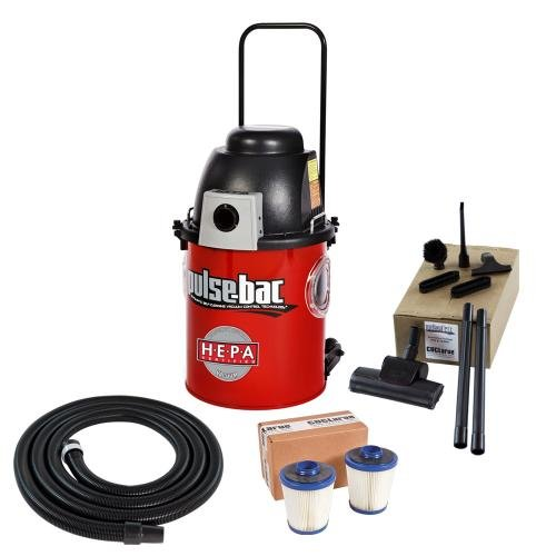 CDCLarue T103550-220P Pulse-Bac HEPA Certified Vacuum