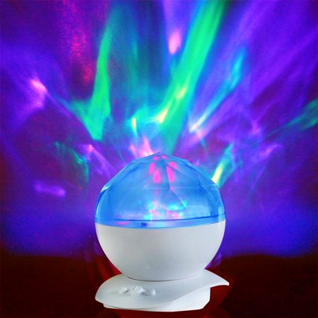Relaxing Colorful Diamond Light Projection Lamp with