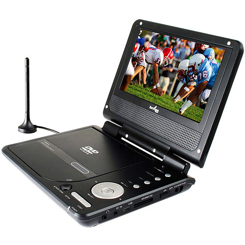 "Azend Envizen 7"" Portable Digital TV with DVD Player, ED8850B"