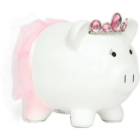 White Princess Piggy Bank