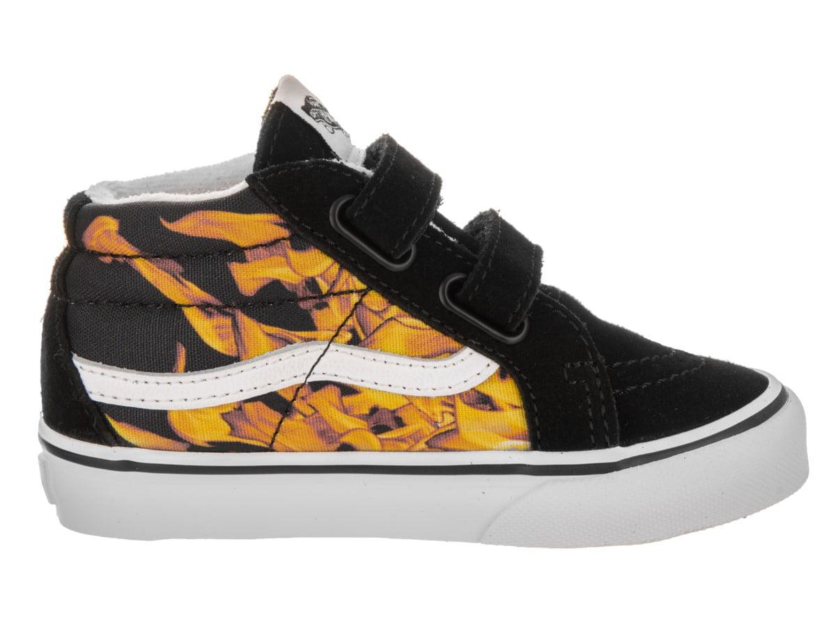 800a39f722 Vans - Vans Toddlers Sk8-Mid Reissue V (Digi Flame) Skate Shoe - Walmart.com