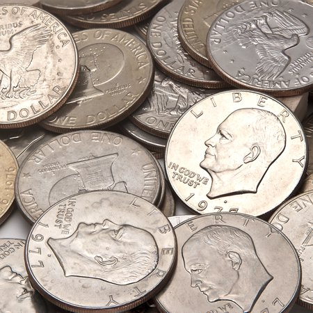 1972 Eisenhower Dollar Coin - 1971-1978 Clad Eisenhower Dollar BU (Copper-Nickel)