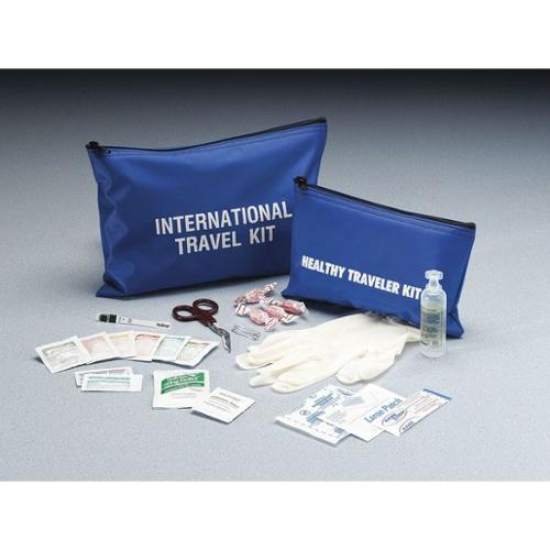 MEDIQUE 73501B Travel First Aid Kit, Bulk, Blue, 1 People
