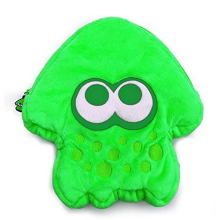 Hori Splatoon 2 Plush Pouch: Green for Nintendo (Hori Hard Pouch)