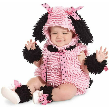 Pink Poodle Girls' Toddler Halloween Costume