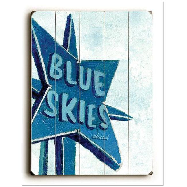 ArteHouse 0003-2592-31 Blue Skies Vintage Sign - image 1 of 1