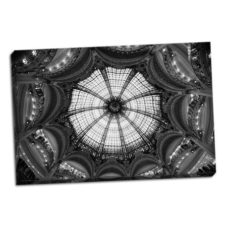 Astoria Grand 'Galeries Lafayette IV' Photographic Print on Wrapped (Lafayette Wrap)