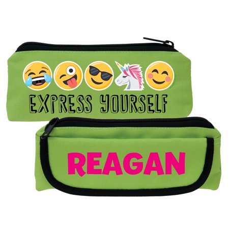 Emoji Express Yourself Green Pencil Case - Pencil Emoji