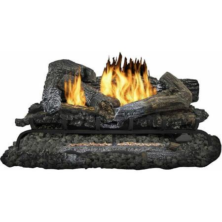 Pleasant Hearth Vfl Ht24dr 24 Inch Heritage Series Vent Free Gas Log Set 33000 Btus