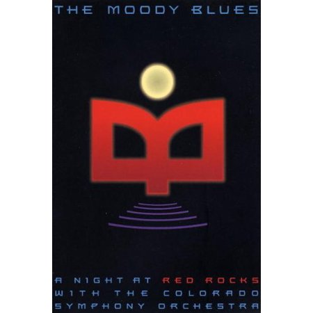 The Moody Blues - A Night at Red Rocks with the Colorado Symphony Orchestra, Factory sealed DVD By Moody Blues Actor Rated NR Format DVD Ship from - Colorado Symphony Orchestra Halloween