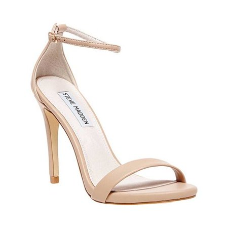 719ffc90458 Womens Steve Madden Stecy Ankle Strap Dress Sandals, Natural