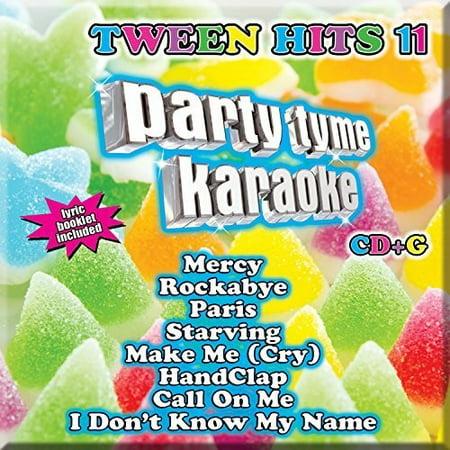 Party Tyme Karaoke - Tween Hits 11 (CD) (Tween Halloween Party Crafts)