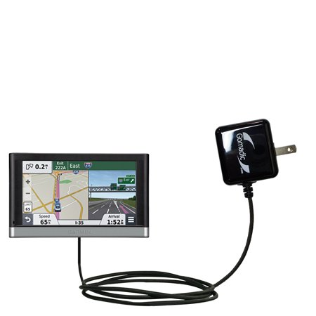 Gomadic Intelligent Compact Ac Home Wall Charger Suitable For The Garmin Nuvi 2557   2577   2597 Lmt   High Output Power With A Convenient  Foldable P