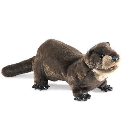 Plush River Otter Puppet 13