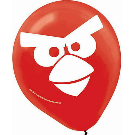 Angry Bird Pumpkin Decorating (Angry Birds Latex Balloons)