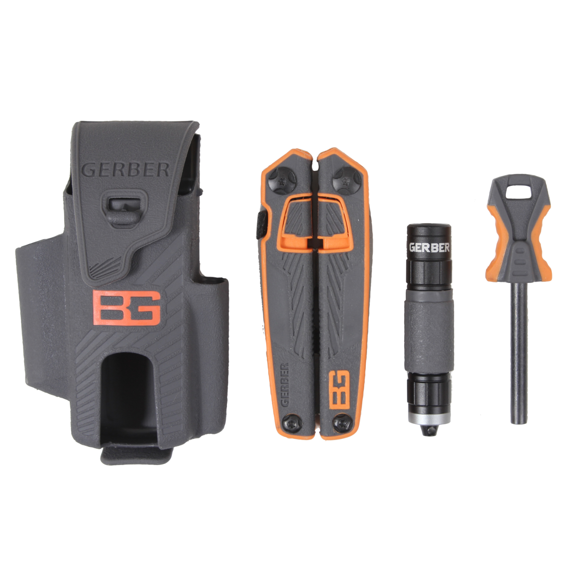 Gerber Bear Grylls Ultimate Survival Pack with Multitool, Flashlight, and Fire Starter