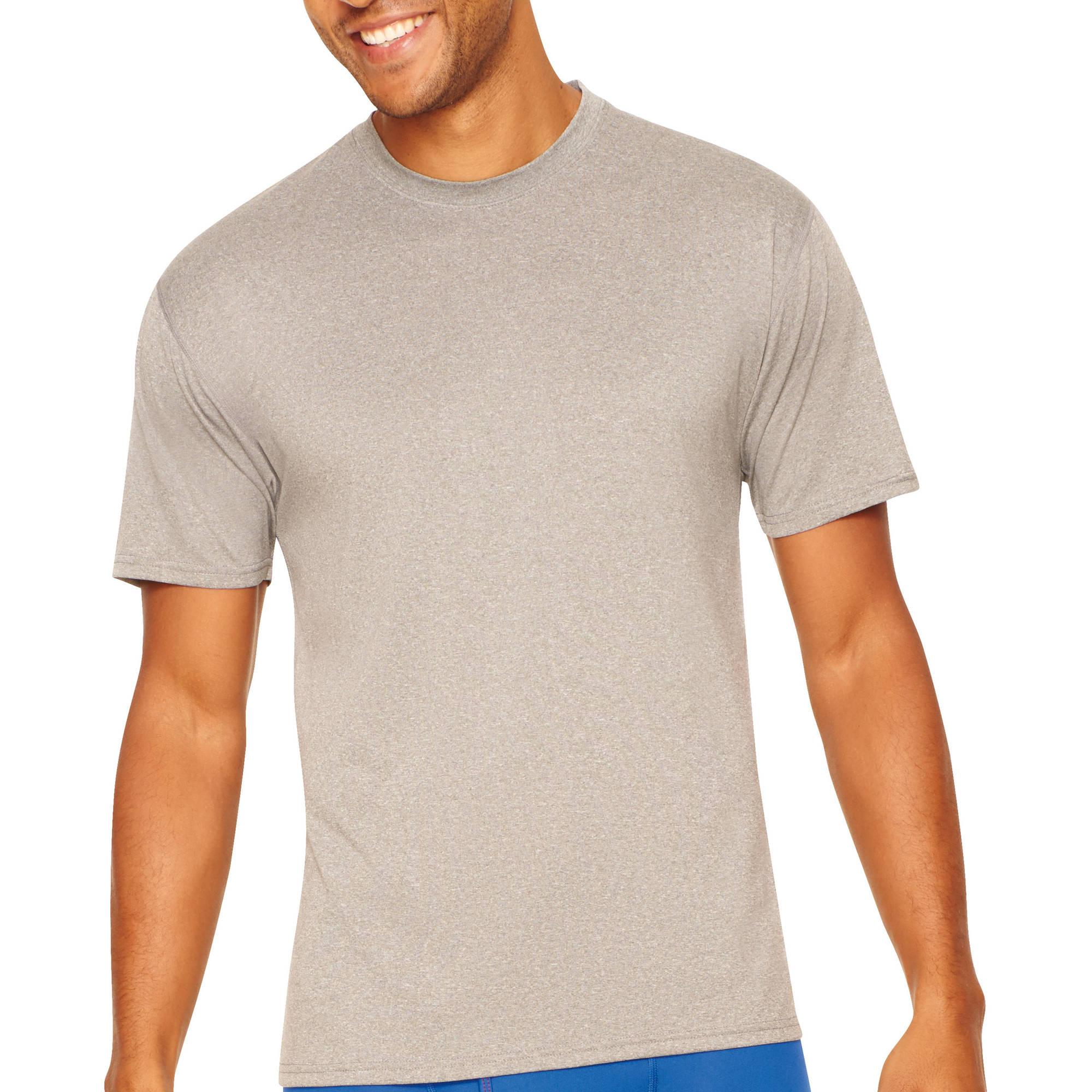 Hanes Men's X-Temp Performance Cool Crew T-Shirts, 2 Pack