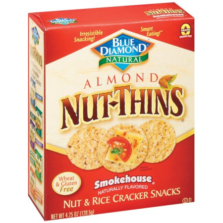 Nut-Thins ® Almond Smokehouse ® Nut & Rice Cracker Snacks 4.25 oz. Box