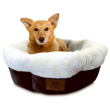 American Kennel Club AKC3806 High Wall Tufted Round Pet Bed, 31