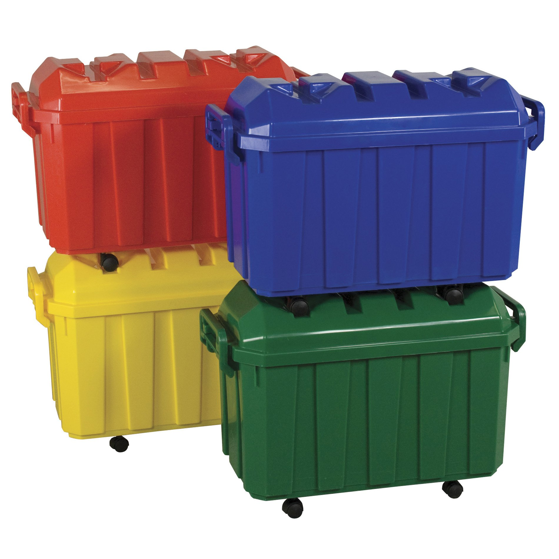 Stackable Storage Trunks w Dome Lids