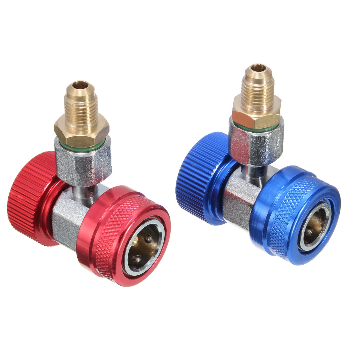 Valve Remover Tool R134A A//C High Low Manifold Quick Coupler Adapter Connector