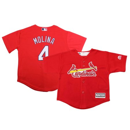 new arrival 80b92 1e0ff Yadier Molina St. Louis Cardinals Majestic Preschool Official Cool Base  Player Jersey - Red