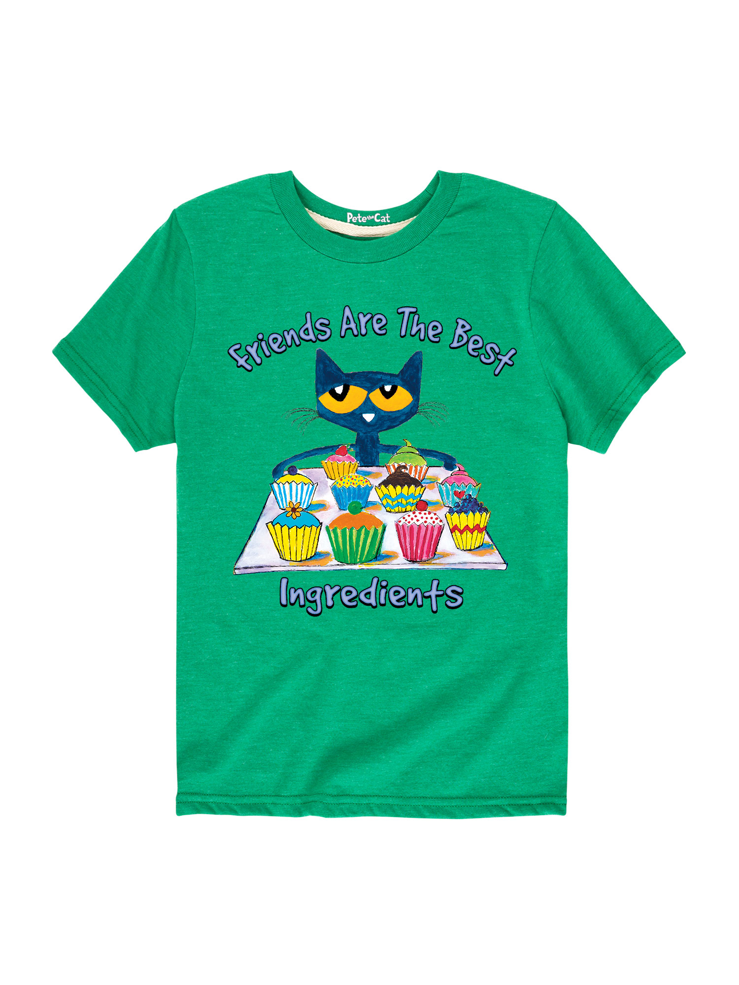 Pete The Cat Friends Are The Best Ingredients  - Toddler Short Sleeve Tee