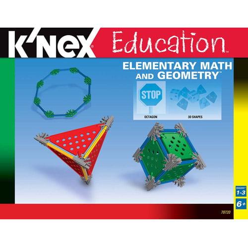 K'NEX Education: Elementary Math and Geometry Building Set