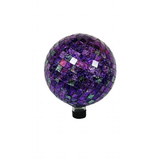 Alpine GRS644 10 in. Gazing Globe Shinning Purple - image 1 de 1