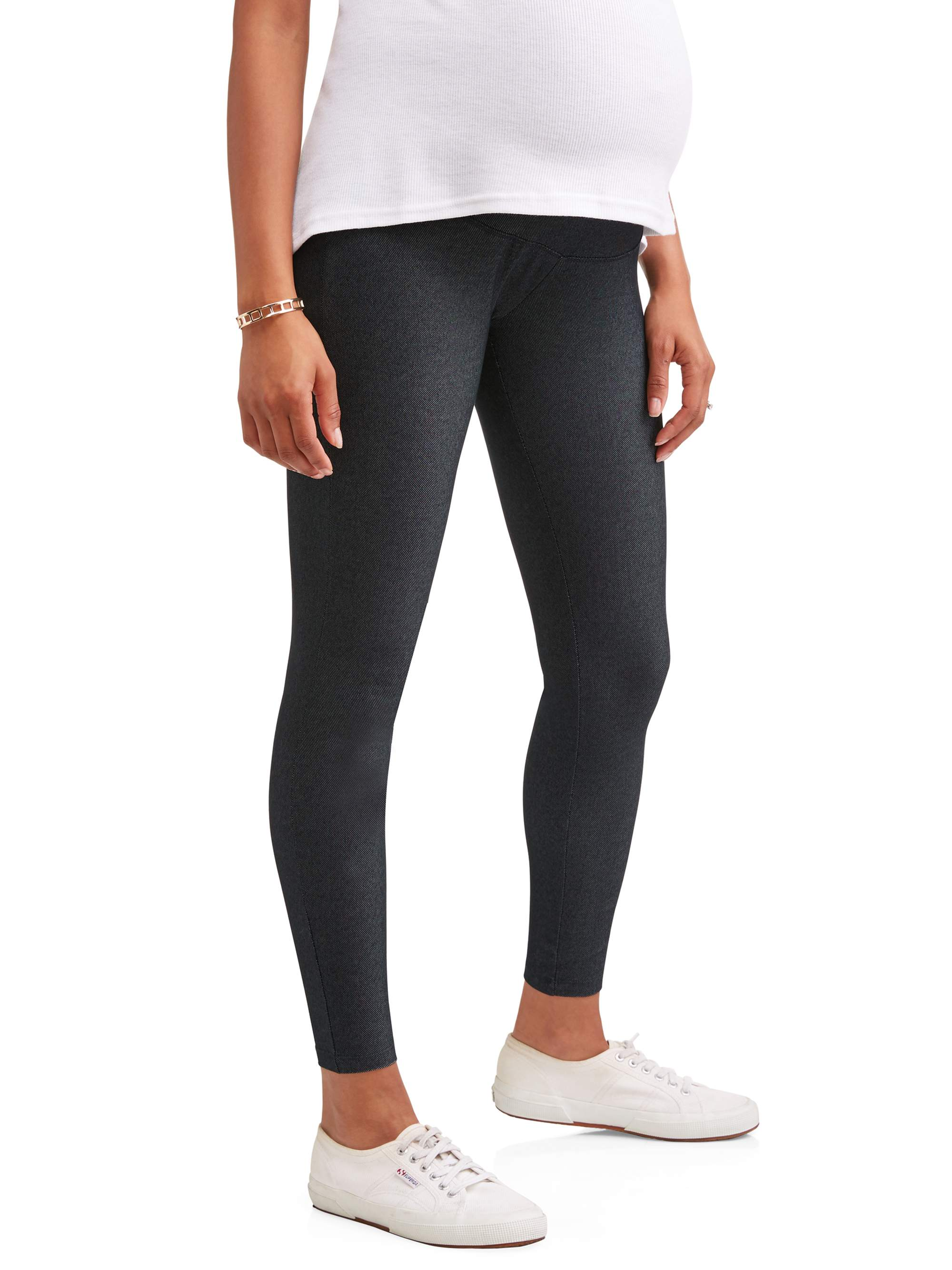 Maternity Over Belly Denim Legging