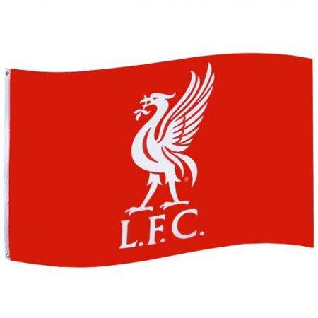 Liverpool FC Flag - Liverbird Crest