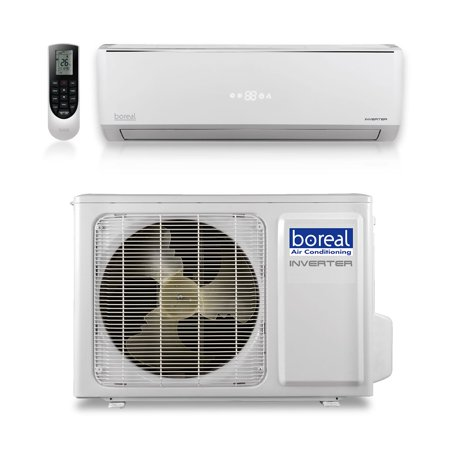 Boreal SOL12HPJ1SB - 12,000 BTU 16 SEER SOLSTAND Wall Mount Ductless Mini Split Air Conditioner Heat Pump