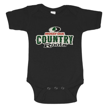 - Infant one piece tee Mossy Oak decal baby t-shirt newborn snapsuit