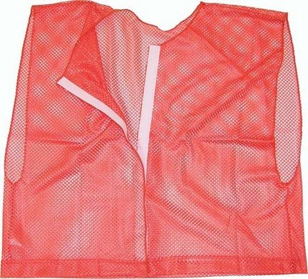 Champion Sports PC167P Deluxe Team Scrimmage Vest Red