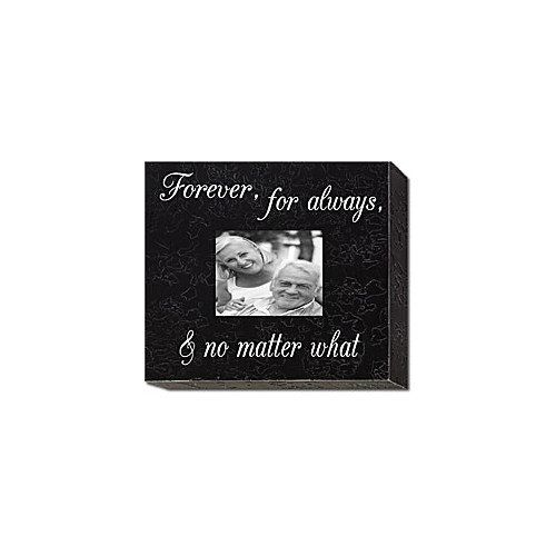 Forest Creations Forever, For Always... Home Frame