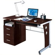 Techni Mobili Laminate Computer Desk in Chocolate