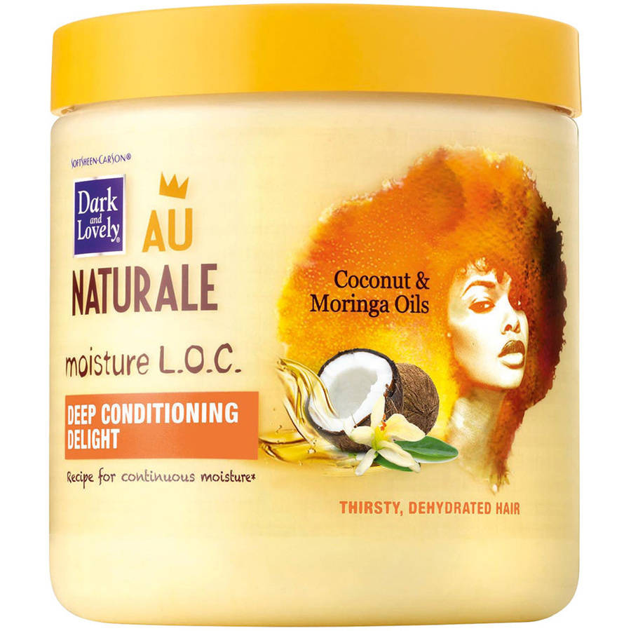 Dark and Lovely Au Naturale Moisture L.O.C. Deep Conditioning Delight, 14.4 oz