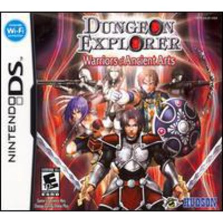 dungeon explorer: warrior of ancient arts - nintendo ds
