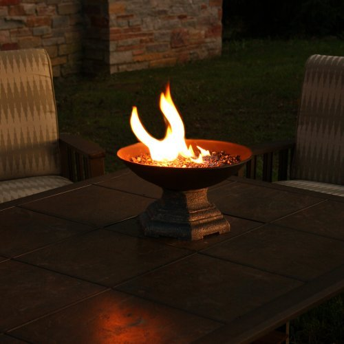 Real Flame Helios Propane Tabletop Fireplace