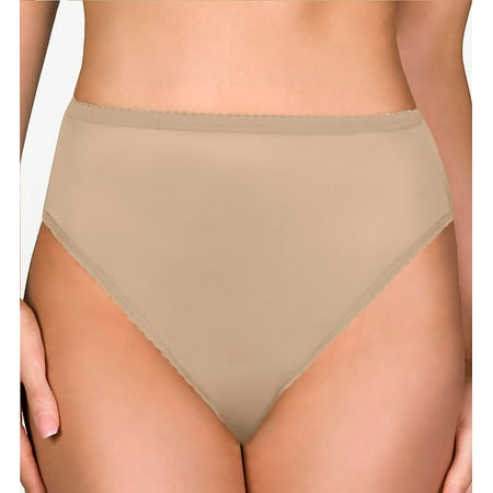 Shadowline 17842 Nylon Classics Hi-Leg Brief Panty