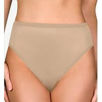 Shadowline 17842 Nylon Classics Hi-Leg Brief Panty