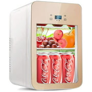 SMG Mini Fridge 20 Liter AC/DC Portable Thermoelectric Cooler and Warmer for Skincare, Foods, Medications, Home and Travel