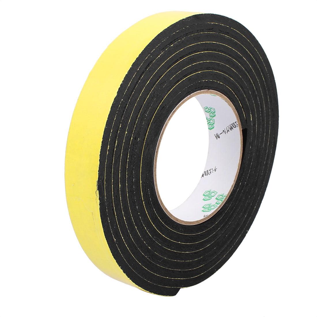 25mm x 5mm Single Sided Self Adhesive Shockproof Sponge Foam Tape 3 Meters