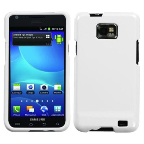 Insten Natural Ivory White Phone Case for SAMSUNG: I777 (Galaxy S II)