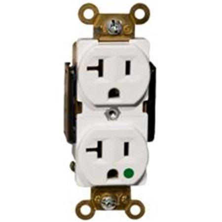 Morris Products 82170 Hospital Grade Duplex Receptacle Ivory 20A-125V - image 1 of 1