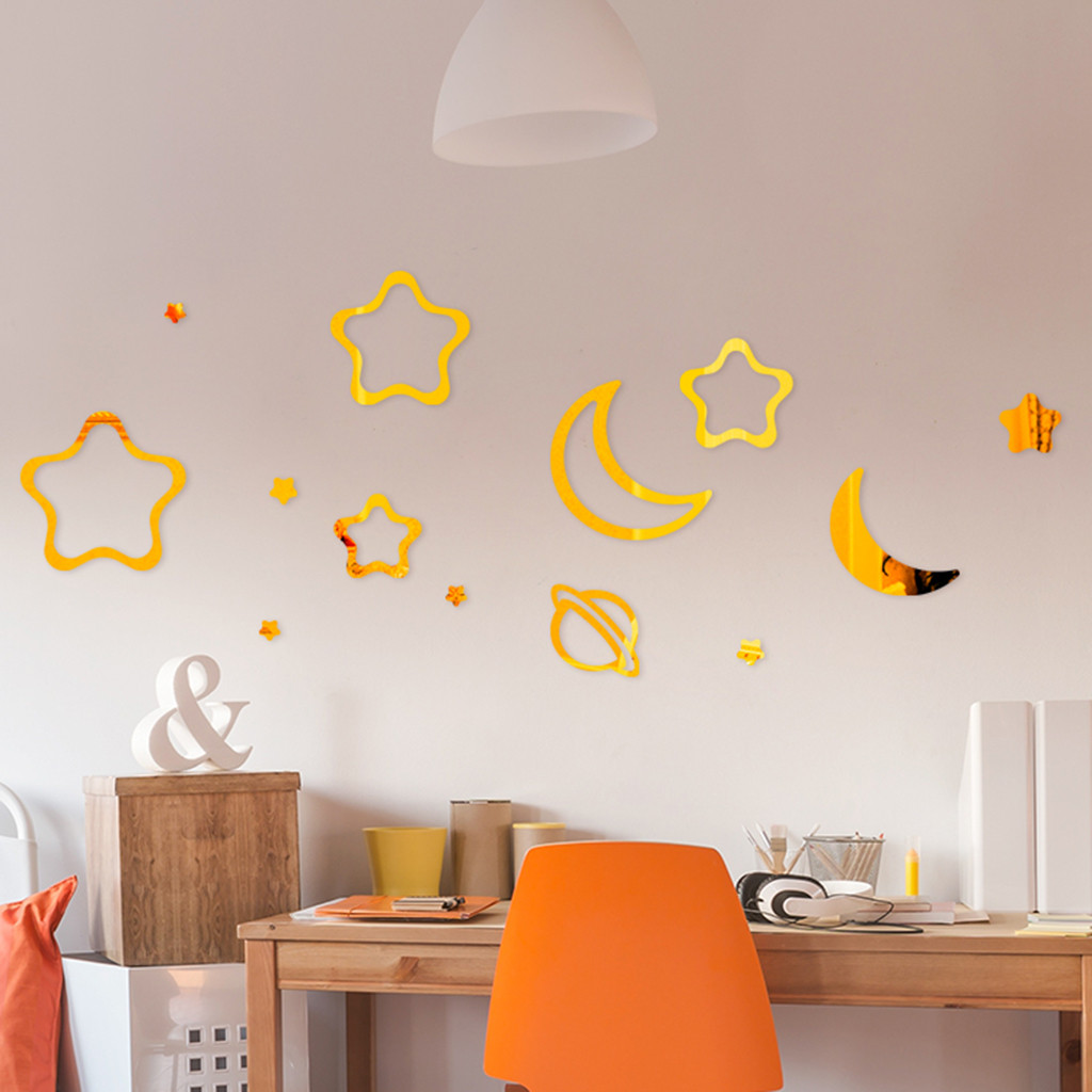 20x Wall Decals Wall Tile Adhesives Decal Decoration Home