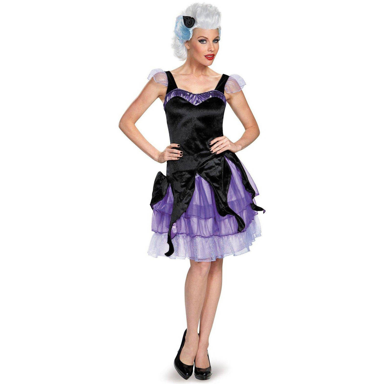 Disney Deluxe Ursula Women\'s Plus Size Adult Halloween Costume, Women\'s Plus