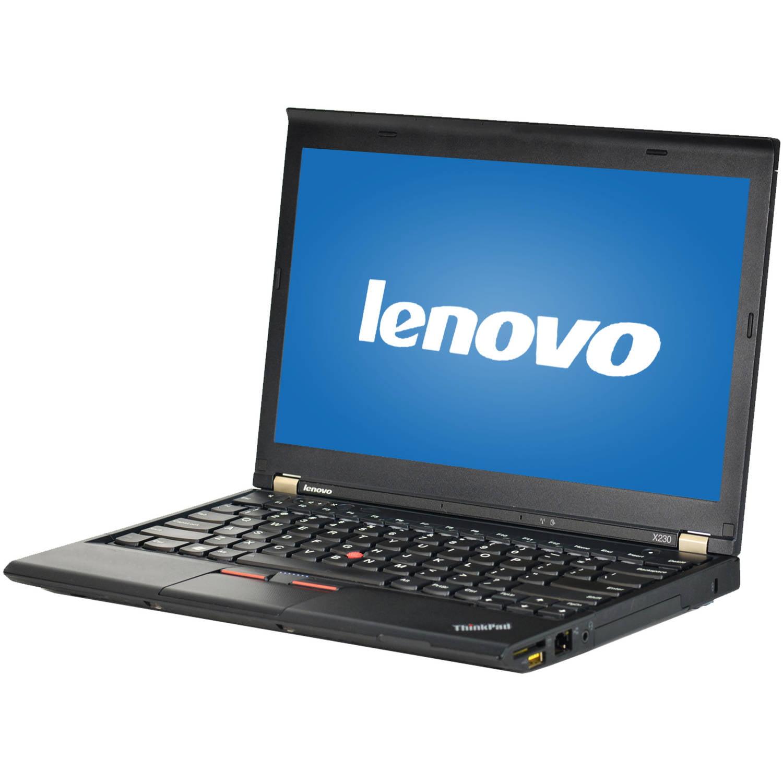 "Refurbished Lenovo Black 12.5"" ThinkPad X230 WA5-1142 Laptop PC with Intel Core"