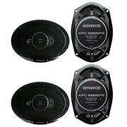 "4)  Kenwood KFC-6995PS 6x9"" 1300 Watt 5-Way Car Audio Coaxial Speakers Stereo"
