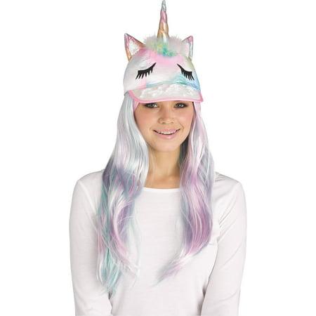 Baseball Halloween Costume Tumblr (Unicorn Sequin Halloween Animal Baseball Costume Hat, One-Size, Pastel)